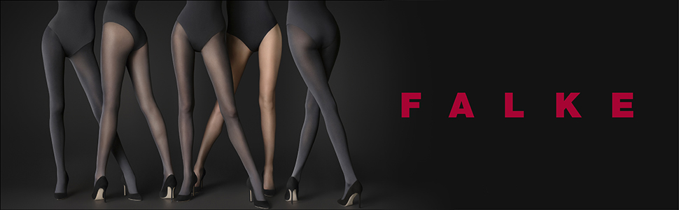 FALKE Women Family Tights hard wearing Multiple Colours comfort waistband Soft 1 Pair ideal for casual looks S to XL 94/% Cotton