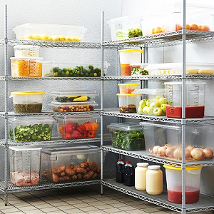 Food storage food prep food containers