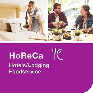 HoReCa, hotels/lodging, foodservice