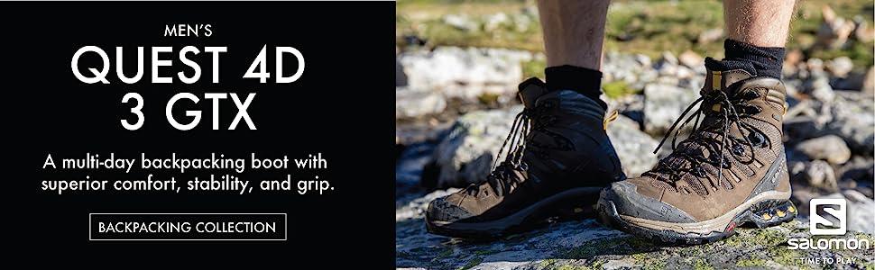 Men's quest 4D 3 GTX backpacking shoes
