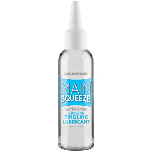 Main Squeeze Cooling Tingling Lubricant