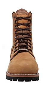 logger work boots steel toe safety toe all day on your feet trail hiking construction boot boots