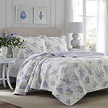lilac bedding;purple bedding;purple quilt;queen purple;king purple;twin purple;quilt set