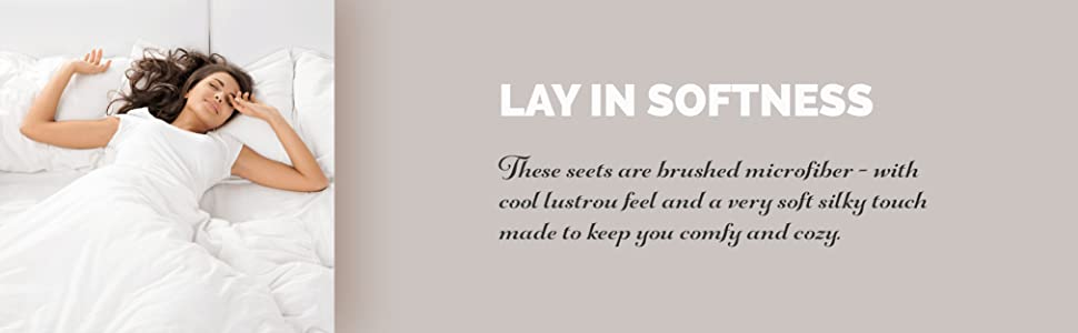 lay in softness
