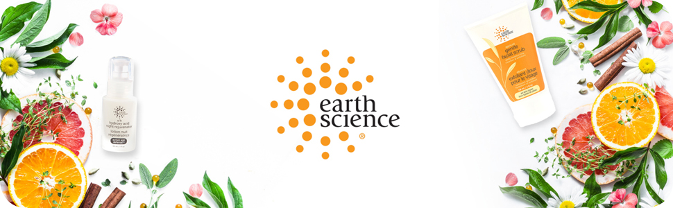 earth science naturals, paraben free, cruelty free, vegan skincare, facial, body, beauty products