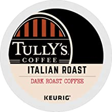 tully's k cup pods, kcups, tully's coffee, k-cup pods, coffee pods, keurig pods, kuerig