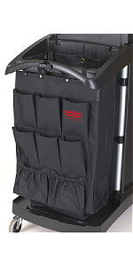 organizer for cleaning cart