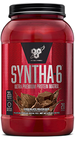 SYNTHA-6 an ultra-premium protein powder with 22g protein per serving