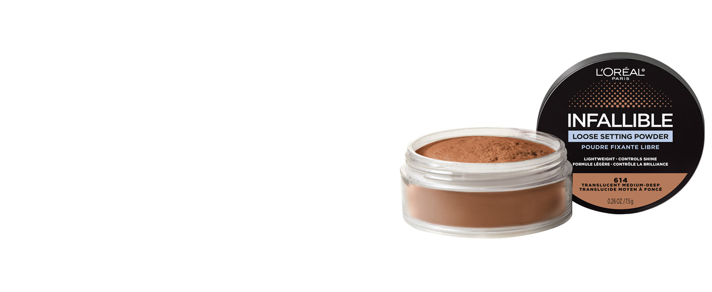 loose makeup setting powder, tinted setting powder, face powder
