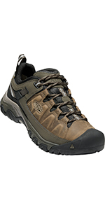 men's waterproof hiking shoes comfortable leather synthetic durable stable breathable outdoor hombre