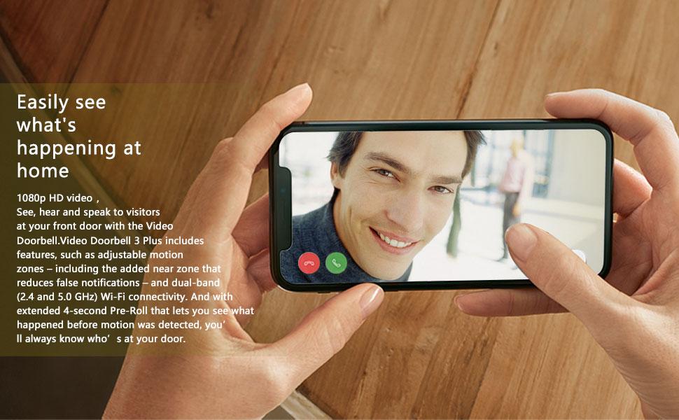 WiFi Video doorbell wireless
