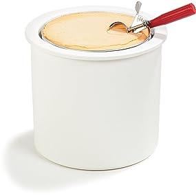 Cold crock, Carlisle crock, coldmaster crock, ice cream crock, insulated crock, carlisle crock,