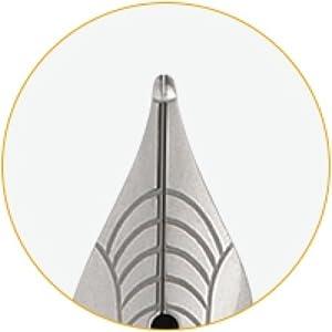 fountain pen fine nib, medium nib