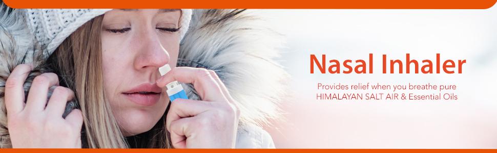 nasal inhaler, inhaler, natural salt inhaler, mint inhaler, himalayan pink salt inhaler,