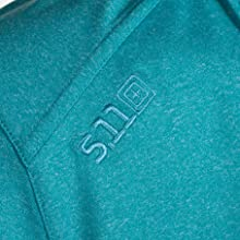 Embroidery logo at front right shoulder and back neck