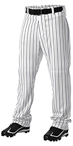 baseball stripped pants
