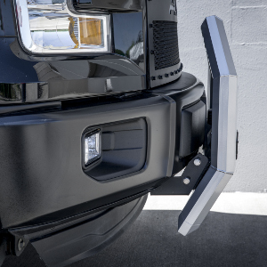 Ford Truck Bull Bar AdvantEDGE ARIES Chrome Aluminum