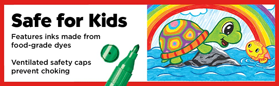 markers for kids, jumbo markers, non toxic markers, art for kids, art supplies kids, kids art