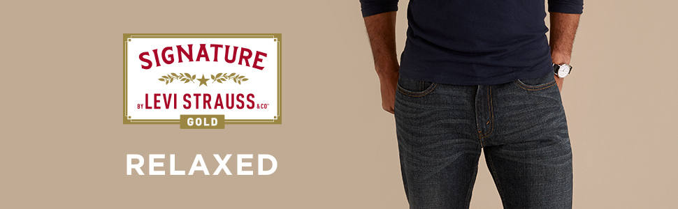Mens Relaxed Jean