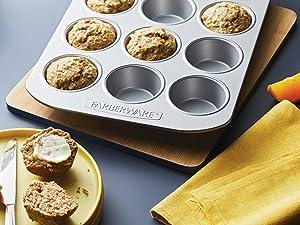 bakeware, nonstick bakeware, baking pans, baking sheet, cake pan, muffin pan, loaf pan, cookie sheet