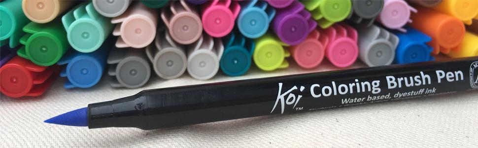 Koi Brush Pen Tip Image