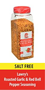 Roasted Garlic and Red Bell Pepper Seasoning