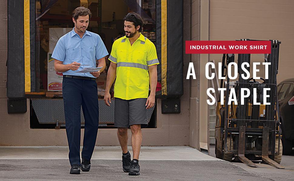 industrial work shirt, red kap work shirt, red kap shirt, red kap auto shirt, redkap shirts
