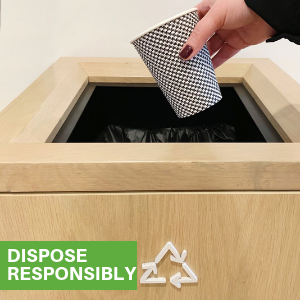 Make the green choice by using Restaurantware coffee cups that are made from paper.