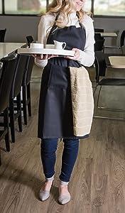 commercial apron;chef apron;kitchen apron;apron;aprons;cooking apron;bib apron;restaurant apron