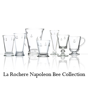 La Rochere Napoleon Bee Drink Ware Collection