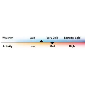 weather and activity meter