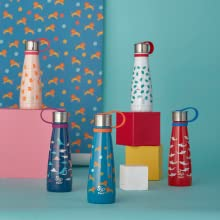 Water Bottle, Kid's Water Bottle, Stainless Steel Water Bottle, Water Bottle With Strap