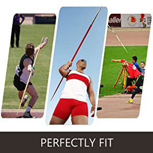 Happybuy 600//700//800g Javelin,High School Boys and Girls Also for Adult Hard Antirust Antislid with Cap and Replacement Line Flight Track /& Field Javelin