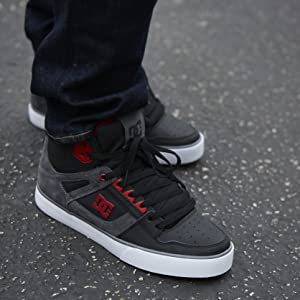 DC Shoes, skateboarding, Pure High Top