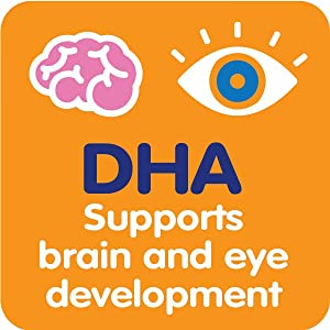 DHA supports brain and eye development