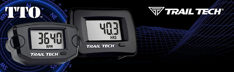 Trail Tech, Trail Tech Gauges, Trail Gauges, Trail GPS, Mini Gauges, Trail Tech TTO, Offroad Gauges