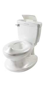lifelike potty, life like potty, potty that looks real, potty to help with training, easy to clean
