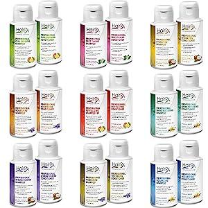 travel set airline friendly shampoo conditioner HairRx ProfilePro