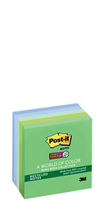 Post-it Notes Super Sticky Recycled Notes