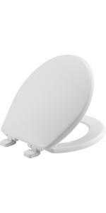 STA-TITE; Round; bemis; toilet; seat; whisper; close; install; adjustable, removable, never loosen