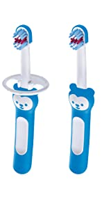 mam, baby, toothbrush, baby toothbrush, first brush, teething baby, baby teeth, safety shield