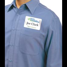 Self-Adhesive Name Badges