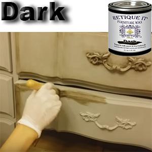dark wax,antiquing wax