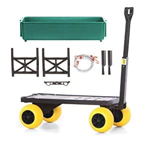Multipurpose All Purpose Garden Beach Fishing Cart Wagon