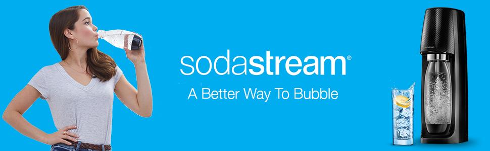 sodastream sparkling water machines