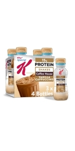 Special K Cappuccino Protein Shakes, 10 oz (12 Count)