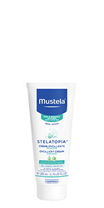 Stelatopia Emollient Cream is a moisturizing cream for your baby's eczema-prone body. Fragrance free