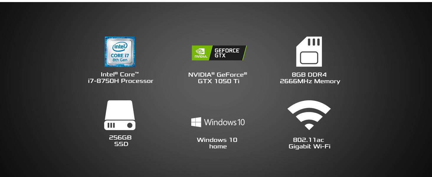ASUS FX 504 Gaming Laptop