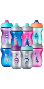 sippy cup toddler training transition weaning water bottle active sports space stem astronaut stars