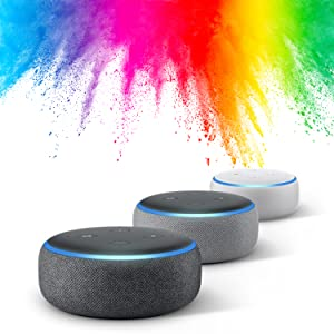 Amazon Dot with Color